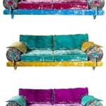 Casablanca bank kleurrijk door KleuropKleur