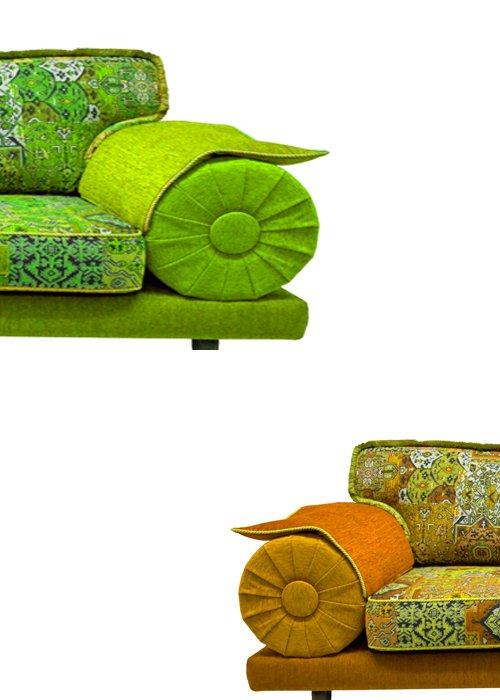 Casablanca bank Hocker kleurrijk door KleuropKleur