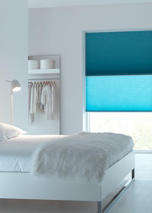 Duette shades kleur op kleur interieur for Kleur interieur
