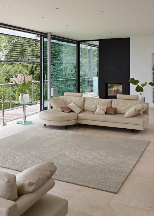 Karpetten met randafwerking kleur op kleur interieur for Interieur kleur