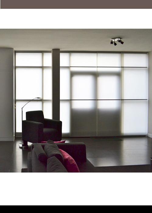 Japanse raambekleding wood washi kleur op kleur interieur for Kleur interieur
