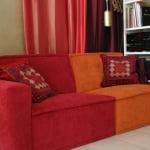 kleurrijke zitelementen door Kleur op Kleur Interieur