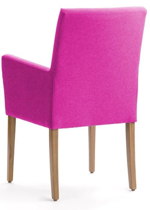 Eetkamerstoel camaleonte kleur op kleur interieur for Eetkamerstoel fauteuil