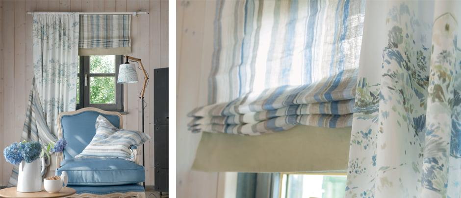 Dessin en print gordijnen - Kleur op Kleur Interieur
