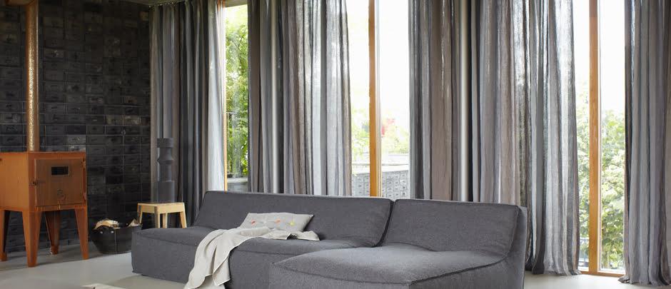 transparante gordijnen kleur op kleur interieur