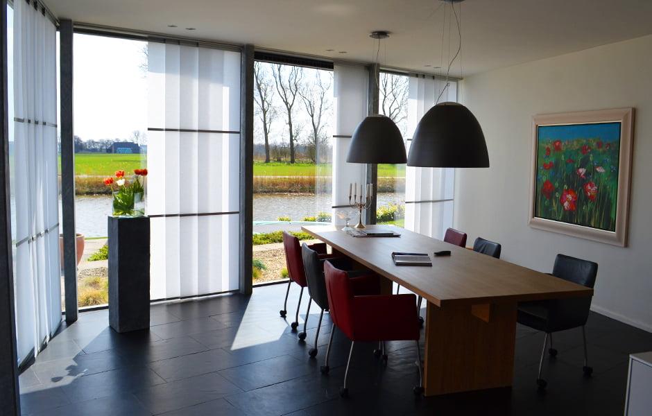 Keukens Sneek Kleuren : Interieuradvies raambekleding wood & washi kleur op kleur interieur