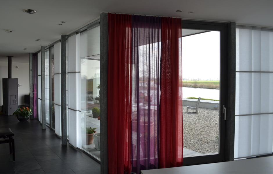 Interieuradvies raambekleding Wood & Washi - Kleur op Kleur Interieur
