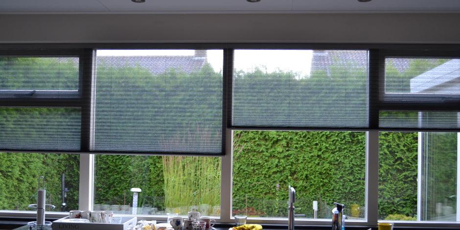 Decoratie raamdecoratie sunway Interieurstyling woonkamer - Kleur op Kleur Interieur