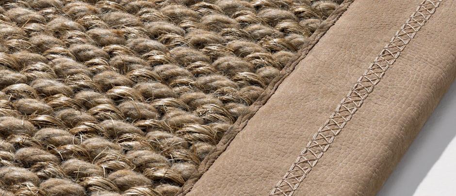 Karpetten met natuurlijke vezels kleur op kleur interieur - Kleur en materialen ...