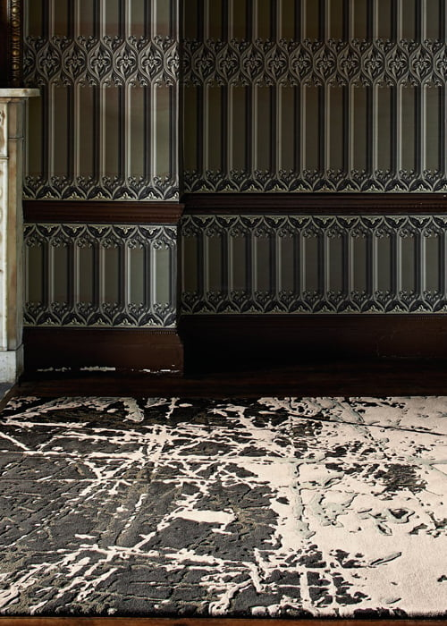 karpet vloerkleed wol natuurlijk materialen vintage klassiek modern interieur kleur op kleur interieur 500700 201516