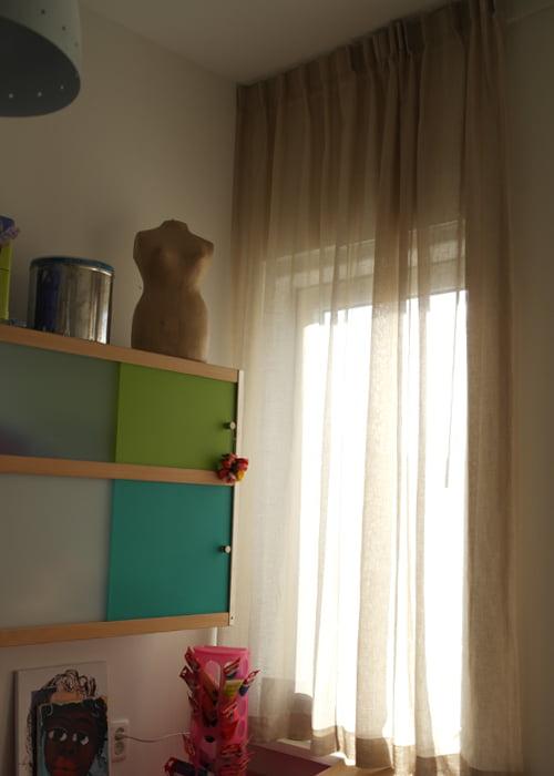 Raambekleding in appartement kleur op kleur interieur - Kleur appartement ...