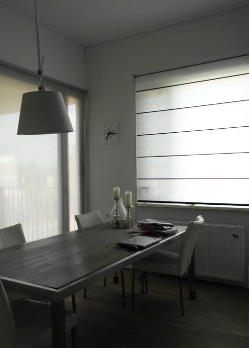 Raambekleding in appartement kleur op kleur interieur - Kleur corridor appartement ...