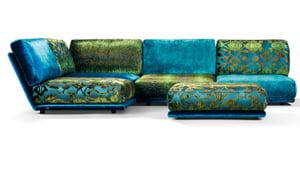 kleurrijke zitelementen Napali door Kleur op Kleur Interieur
