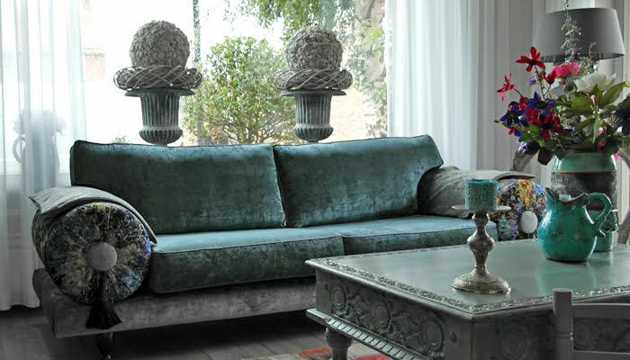casablanca bank door kleur op kleur interieur