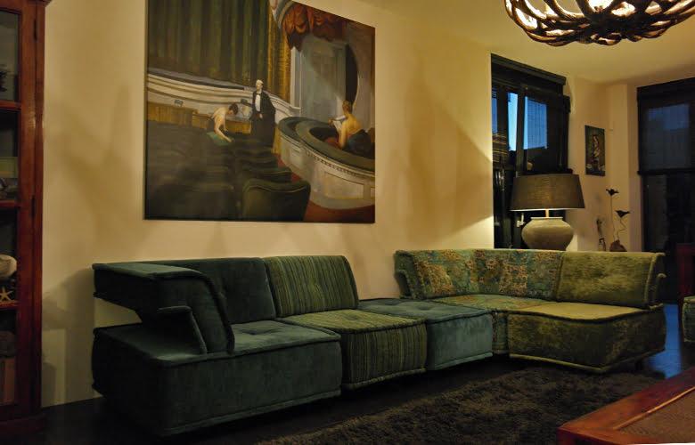 Casablanca-elementen in de woonkamer - Kleur op Kleur Interieur