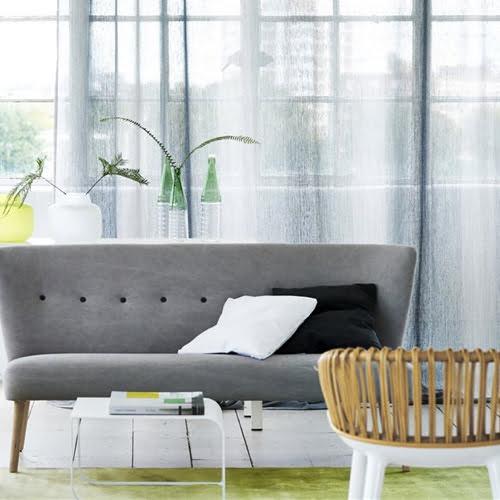 Transparante gordijnen kleur op kleur interieur for Interieur inspiratie kleur
