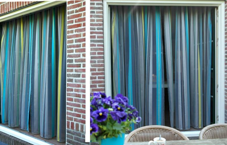 Transparante vitrage in woonkeuken - Kleur op Kleur Interieur