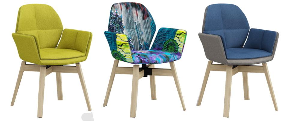 Twisto eetkamerstoel kleur op kleur interieur - De kleurenkamer ...