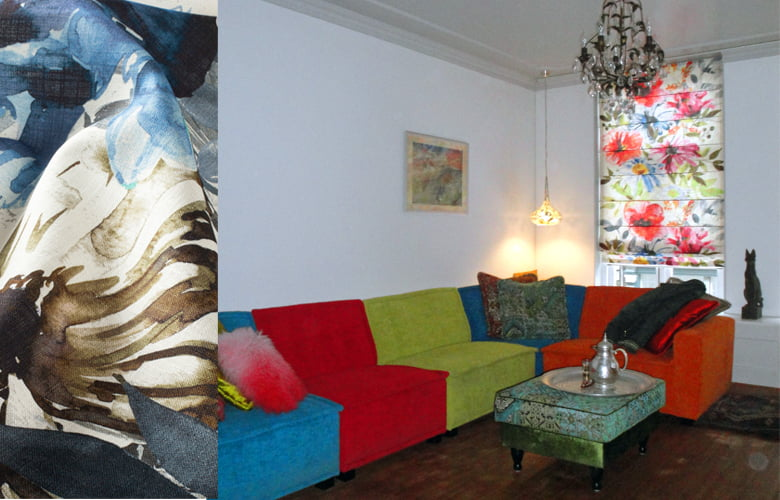 Verrassend veel kleurgebruik in het interieur - Kleur op Kleur Interieur