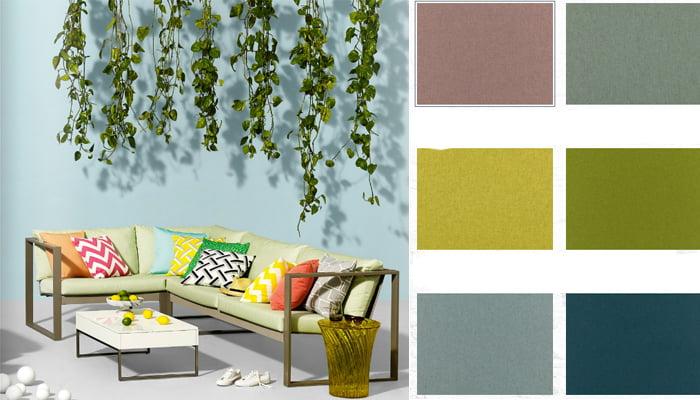 gerecycled wol vilt voor bekleding meubels door Kleur op Kleur Interieur