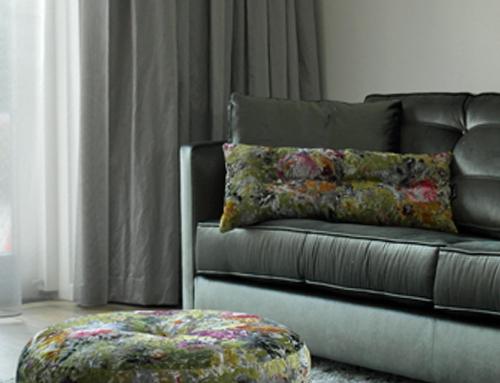Raambekleding in appartement - Kleur op Kleur Interieur