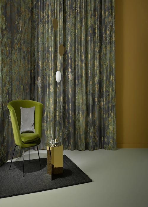 Dessin en print gordijnen kleur op kleur interieur for Interieur kleur