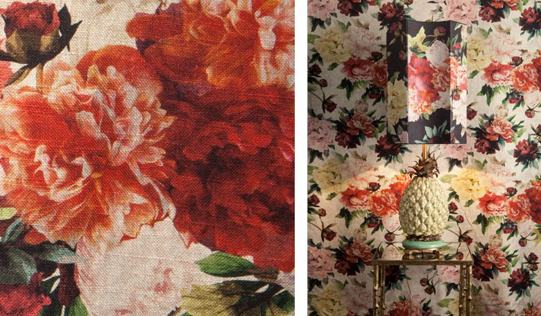vouw-gordijnen-klassiek-zware-linnen-kwaliteit-bloemendessin-woonstoffen-2017-kleur-op-kleur-interieur-4