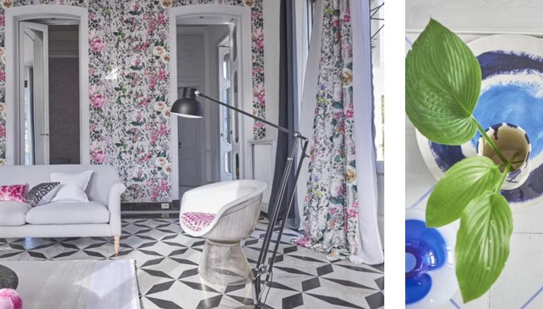 Designers guild voorjaars collectie kleur op kleur interieur