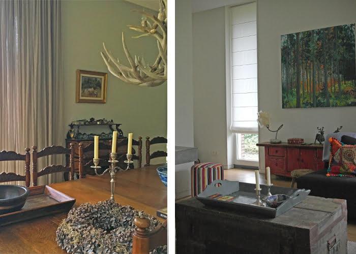Klassiek landelijk eigen interieur kleur op kleur interieur for Kleur interieur