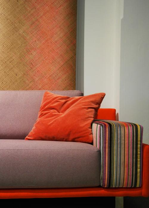 Hello 3 zits bank kleur op kleur interieur for Kleur interieur