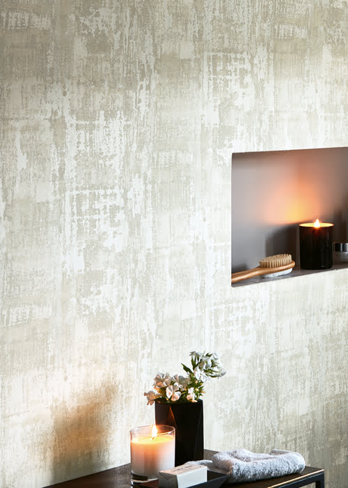Luxueus behang kleur op kleur interieur for Interieur kleur
