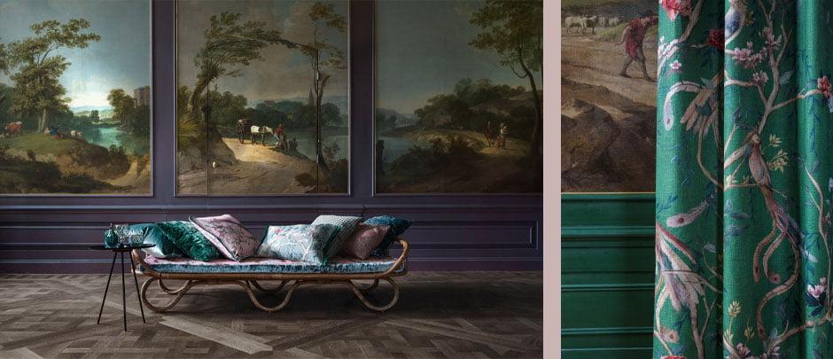 https://www.kleuropkleur.nl/wp-content/uploads/2018/01/iconische-stijlen-eclectische-behang-renaissance-fluweel-stoffen-gordijnen-geometrische-patronen-woonwinkel-kleur-op-kleur-interieur-940x405-2018-C1.jpg