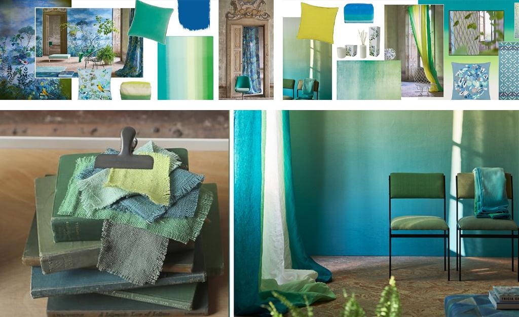 Designers guild collectie 2018 nu bij kleur op kleur for Kleur interieur