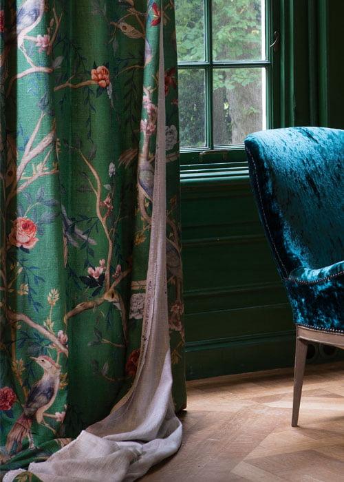 Klassieke gordijnen - Kleur op Kleur Interieur