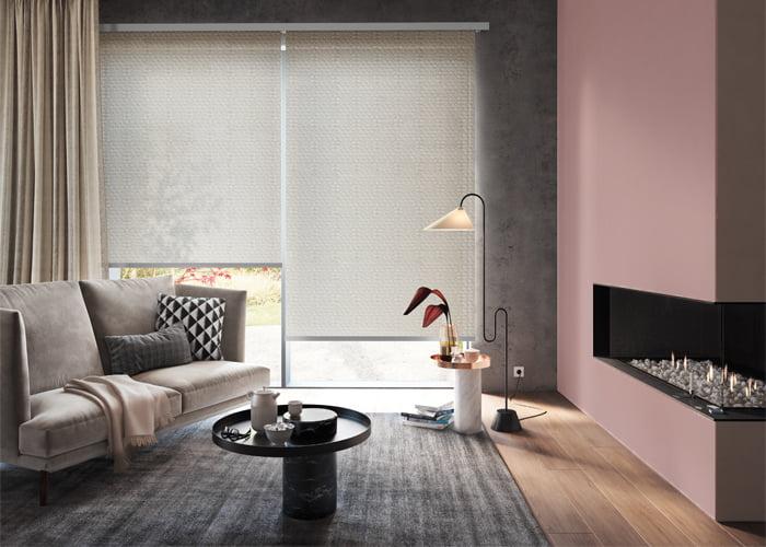 Rolgordijnen Slaapkamer 18 : Rolgordijnen kleur op kleur interieur