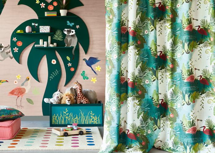 kinder-stoffen-behang-kleurrijk-fauna-florale-villa-nova-kleur-op-kleur-interieur-700x500-03